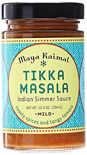 Maya Kaimal Tikka Masala Simmer Sauce, Mild, 12.5 oz (Indian Curry Simmer Sauce compare prices)