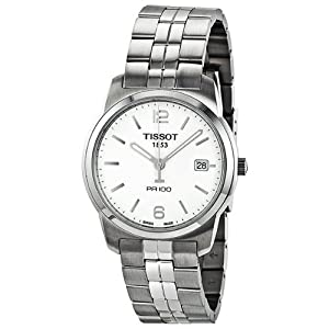 Amazon.com: Tissot PR 100 Men's Watch - White: Tissot: Watches