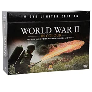 World War II in Colour 10 DVD Limited - 16.3KB