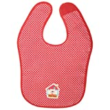 Tuc Tuc Red with Polkadots Waterproof Baby Bib. Koala Collection.