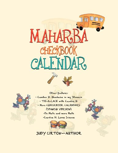 Maharba Checkbook Calendar: For Children