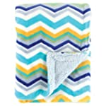 Hudson Baby Double Layer Blanket, Blue