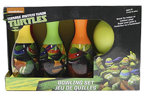 What Kids Want Teenage Mutant Ninja Turtles Licensed Bowling Set (Ninja Bowling Ball compare prices)