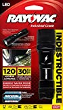 Rayovac Virtually Indestructible 120 Lumen 3AAA LED Flashlight with Batteries (DIY3AAA-B)