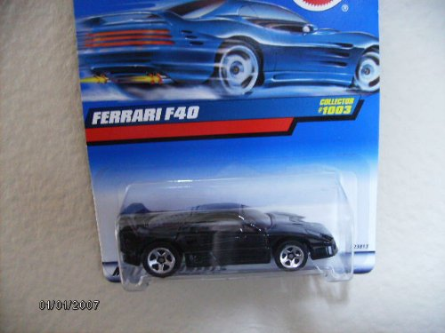 Hot Wheels Ferrari F40 1999 #1003 W/5spokes
