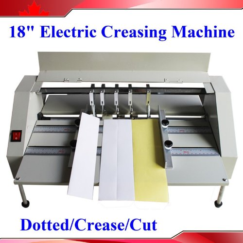 18Inch 460Mm Electric Creaser Scorer Perforator 2In1 Combo Paper Creasing Card