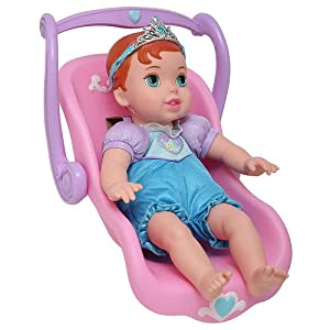 Travel With Me Baby Ariel with Doll Carrier / Car Seat: Toys & Games
