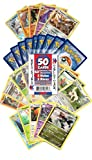 Pokemon Cards 50 Card Assorted Lot (Commons/Uncommons, Holos, Rares) Cazillion Cards Repack