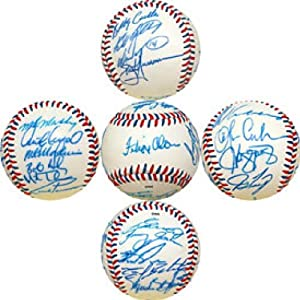 1998 Montreal Expos Autographed Signed Montreal Expos Baseball by Hollywood+Collectibles