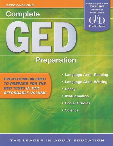 Complete GED Preparation (Halloween Colorado 2016)