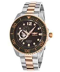 Invicta Men's 15417 Pro Diver Analog Display Japanese Automatic Two Tone Watch