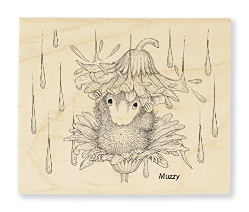 Stampendous Rain Flower Rubber Stamp