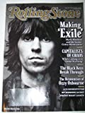 img - for Keith Richards Cover Rolling Stone Magazine #1105 May 27, 2010 Mick Jagger Making 'Exile', Capitalists of Chaos, The Black Keys, Ozzy Osbourne, LCD Soundsystem, My Morning Jacket, Friday Night Lights book / textbook / text book