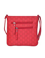 Hawai Red Trendy Sling Bag For Women