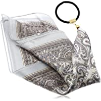 [ジョエル ガニャール] Joelle Gagnard silk scarf gom Joe14SP-71 white