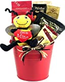 Gift Basket Village BeMine Bee Mine, Valentines Day Gift Basket