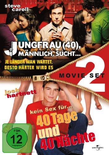 40 Tage und 40 Nächte + Jungfrau (40), Männlich, sucht... 2 Movie Set [2 DVDs]