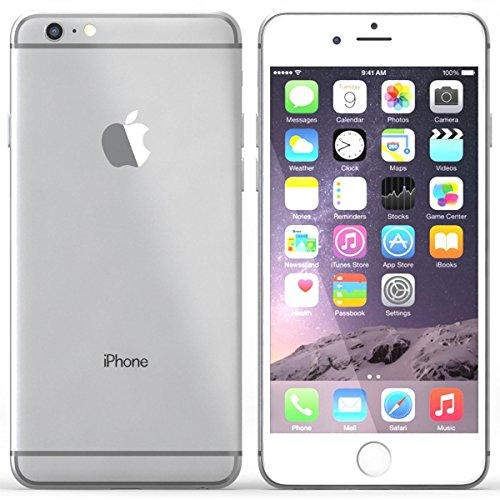 Apple discount duty free Apple iPhone 6 Plus 64GB Unlocked Smartphone - Silver (Certified Refurbished)