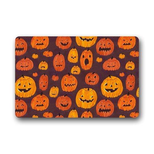 Halloween Bath Mat - Pumpkins