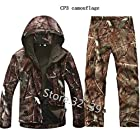 Military Jacket + Pants TAD Gear Tactical Softshell Camouflage Outdoor Jacket Set Men Army Sport Waterproof Hunting Clothes Set
