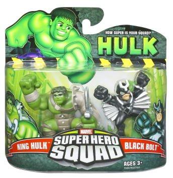 Incredible Hulk Movie Series 2 Super Hero Squad 2-Pack King Hulk and Black Bolt
