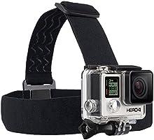Comprar GoPro Headstrap + QuickClip - Pack de accesorios para cámaras digitales GoPro Hero, negro
