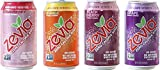 Zevia Zero Calorie Soda, Fruity Variety Pack, Naturally Sweetened, (Pack of 24)