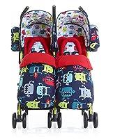Cosatto Supa Dupa Twin Stroller by COSATTO