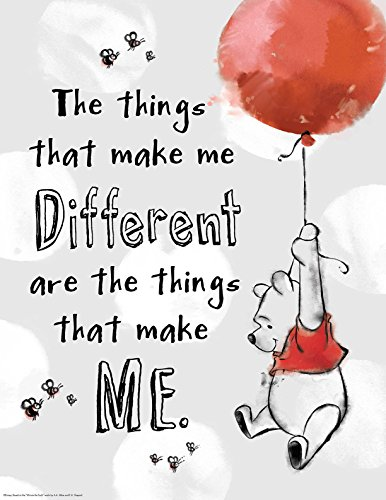 "Eureka Winnie The Pooh, Things that Make Me Different 17""x22"" Posters (837223)"