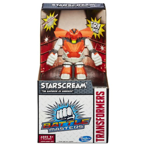 Transformers Battle Masters Starscream Figure