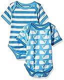 Toby Tiger - Mono - Manga corta - para bebé niña Azul azul 6 mes
