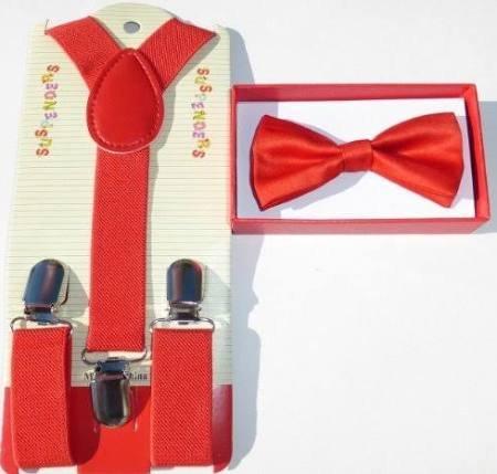 baby toddler kids children boys girls red bow tie