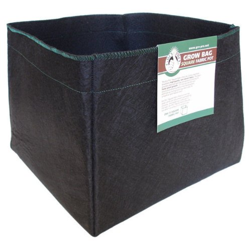 Gro Pro Square Fabric Pot, 10-Gallon (Square Garden Pots compare prices)
