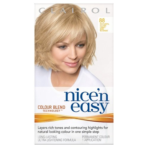 Clairol Nice'n'Easy Hair Colourant 88 Natural Ultra Light Ash Blonde