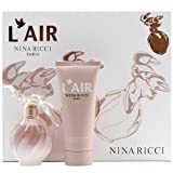 Nina Ricci L'air Eau de Parfum Spray 50ml Plus Body Lotion 100ml