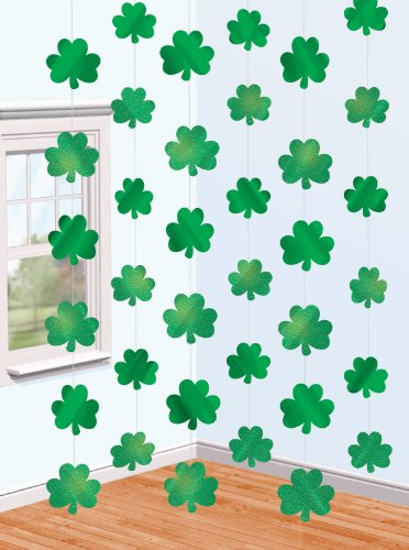 St. Patrick's Day Shamrock String Decorations Party Accessory