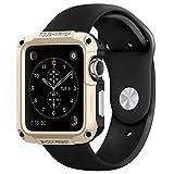 Apple Watch ケース, Spigen® [エアクッションテクノロジー] タフ・アーマー アップル ウォッチ (42mm) 【国内正規品】(2015) (シャンパン・ゴールド【SGP11502】)