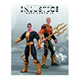 Aquaman vs Black Adam Injustice DC Comics Unlimited 2 Pack Action Figure