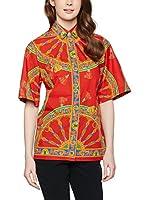 Dolce & Gabbana Camisa Mujer (Rojo / Multicolor)