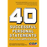 40 Successful Personal Statements: For UCAS Applicationby Guy Nobes