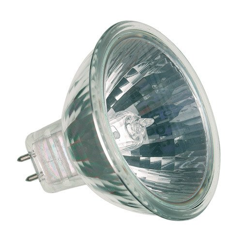 12V 10W Mr16 Reflector Emergency Light Bulb, Elb-326, Lifespan 4000 Hours, Output 440 Lumens, Easily Installed Using Its 2Pin G8 Base Connector, Mirrored Aluminum Reflector Highly Efficient Globe