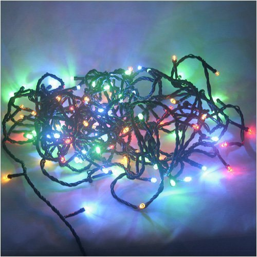 Ledwholesalers Mult Color Changing Rbg 100 Led Christmas Light String 2021
