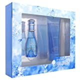 Cool Water Woman by Davidoff Eau de Toilette Spray 30ml & Gentle Shower Breeze 75ml 30ml