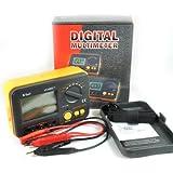 Vici Vc480c+ 3 1/2 Accuracy + 4 Wire Test Multimeter Digital Milli-ohm Meter