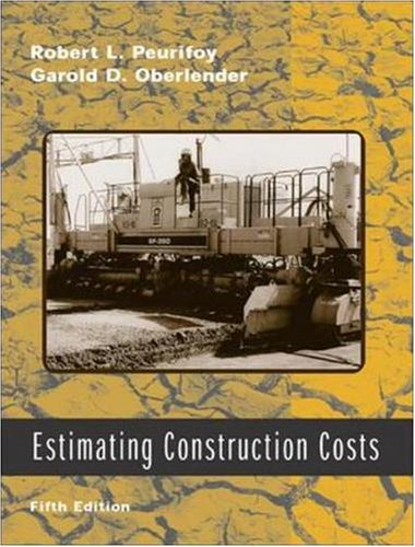 Estimating Construction Costs - McGraw-Hill - 0071239456 - ISBN: 0071239456 - ISBN-13: 9780071239455