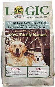 Nature'S Logic 858155001232 Dry Dog Lamb, 4.4-Pound Bag