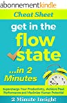 Cheat Sheet: Get in The Flow State......