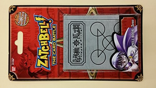 Zatchbell (The Card Battle) Spell Book: Zeno