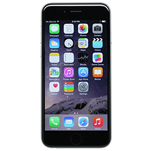 Apple iPhone 6 Plus a1522 16GB Space Gray Unlocked (Certified Refurbished)
