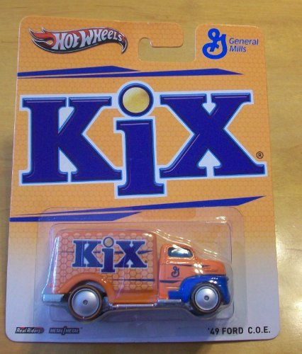 Hot Wheels General Mills Kix '49 Ford C.O.E. Orange/Blue - 1